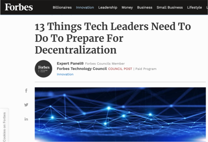 strata featured on forbes.com for tech advice