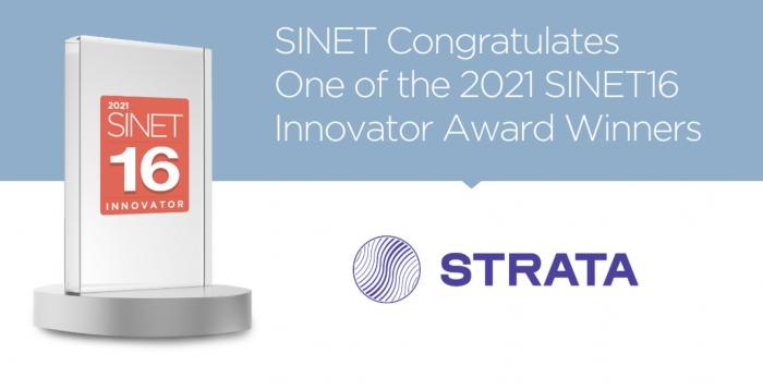 SINET16 2021 Award logo Strata Identity